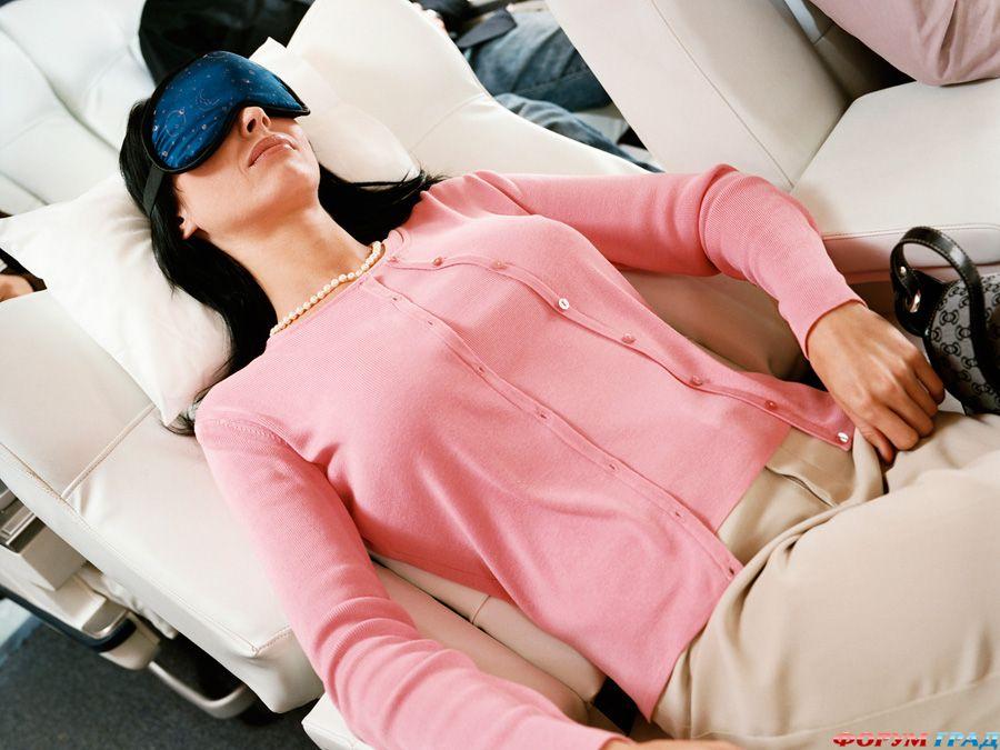 Самочувствие при перелёте на самолёте